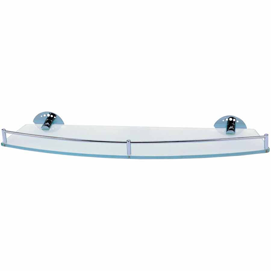 Frosted Glass Shelf Single Otc Tiles Bathroom