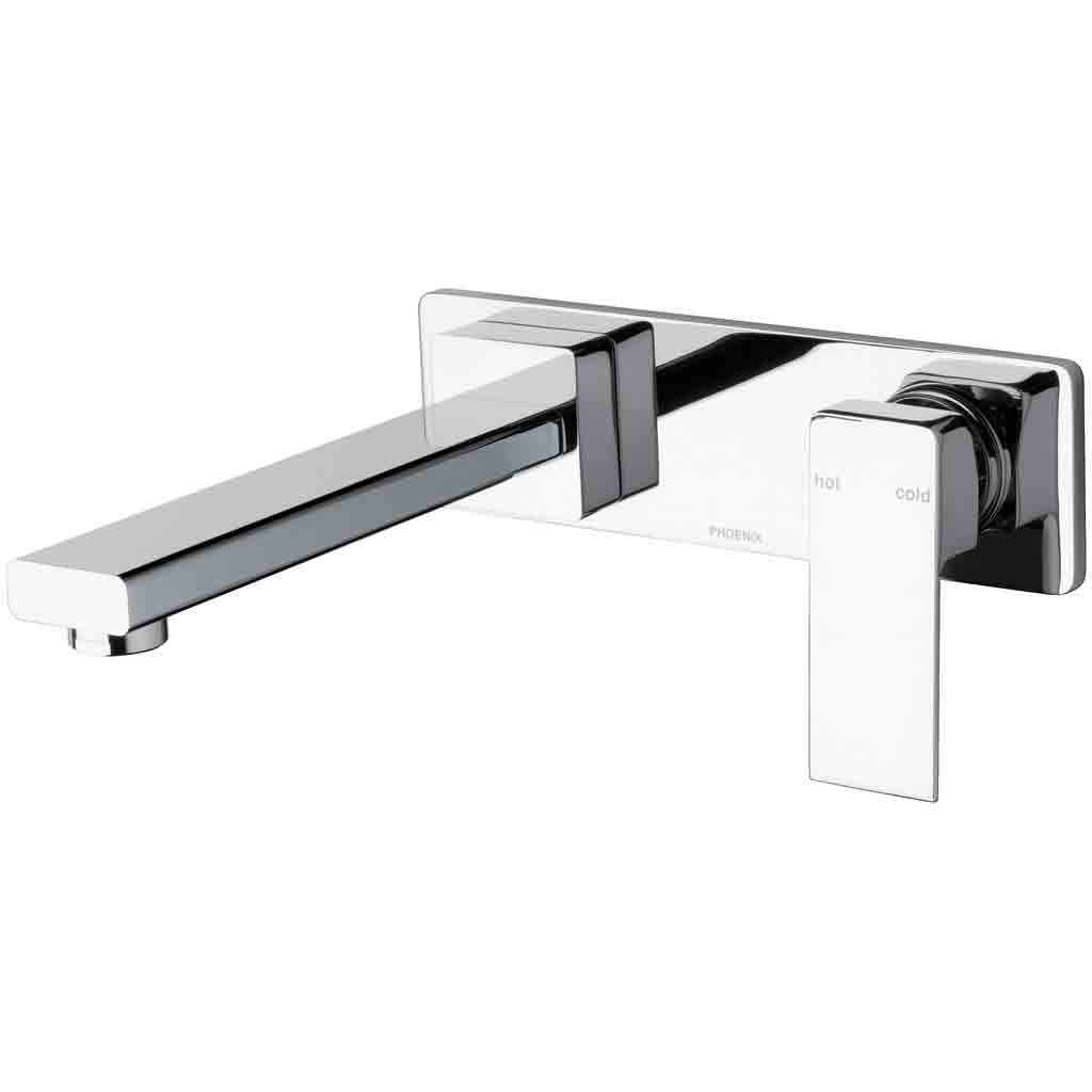 Radii Wall Bath Mixer Set 180mm