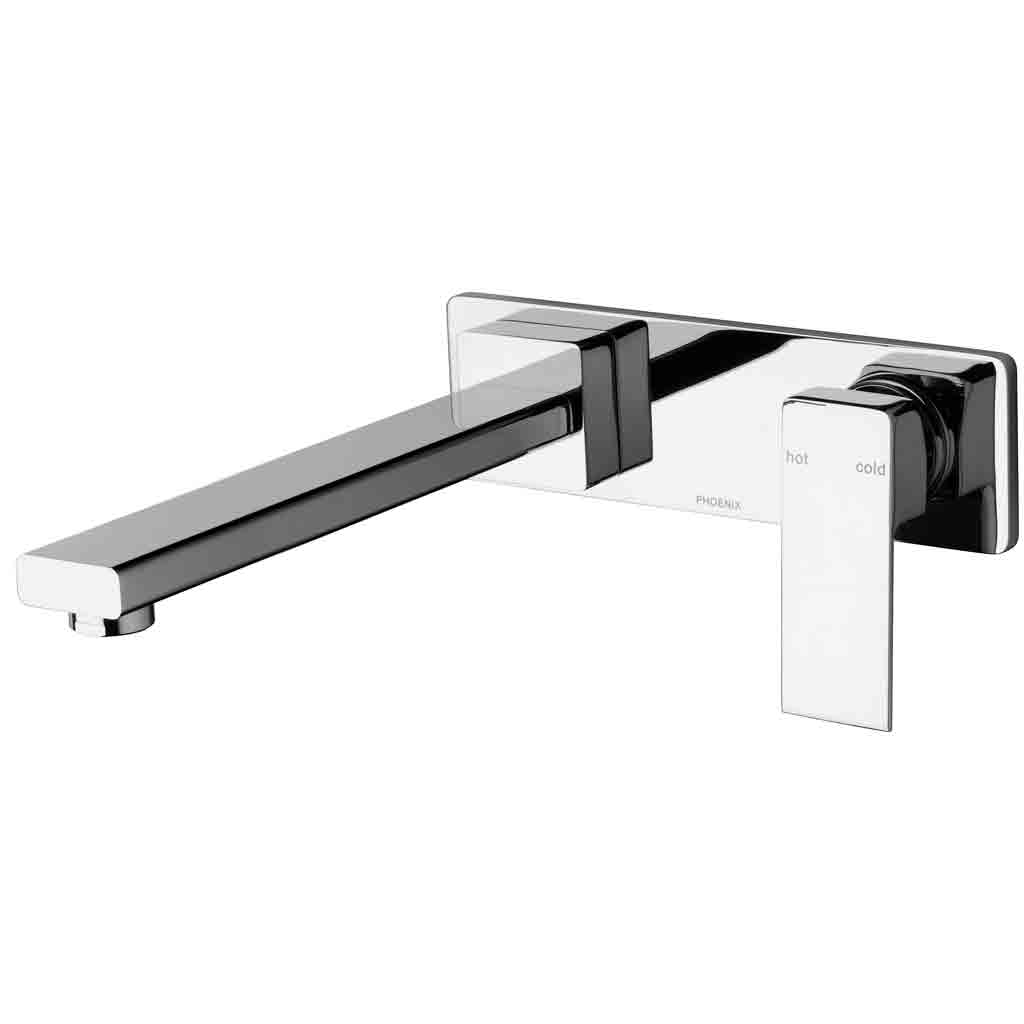 Radii Wall Bath Mixer Set 230mm