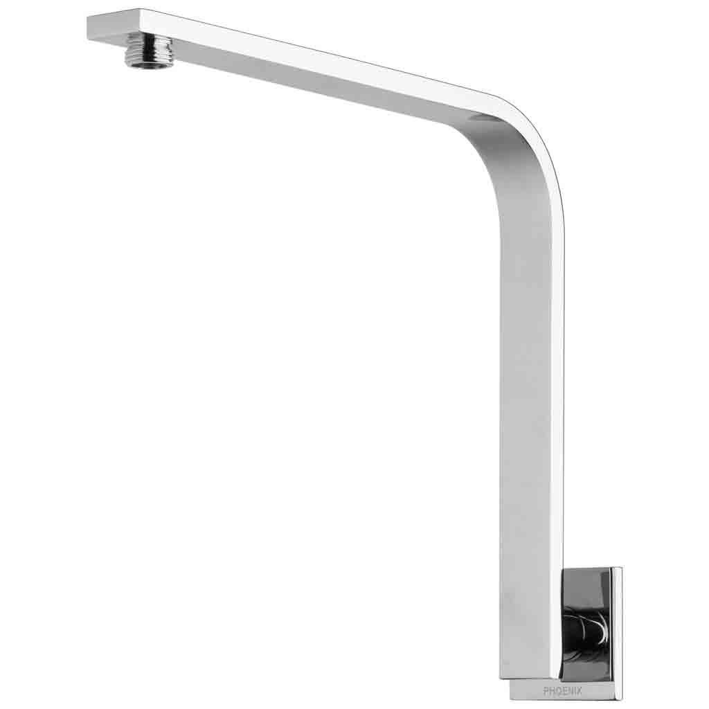 Vivid Slimline Shower Arm 30x10 Rectangle Square Plate