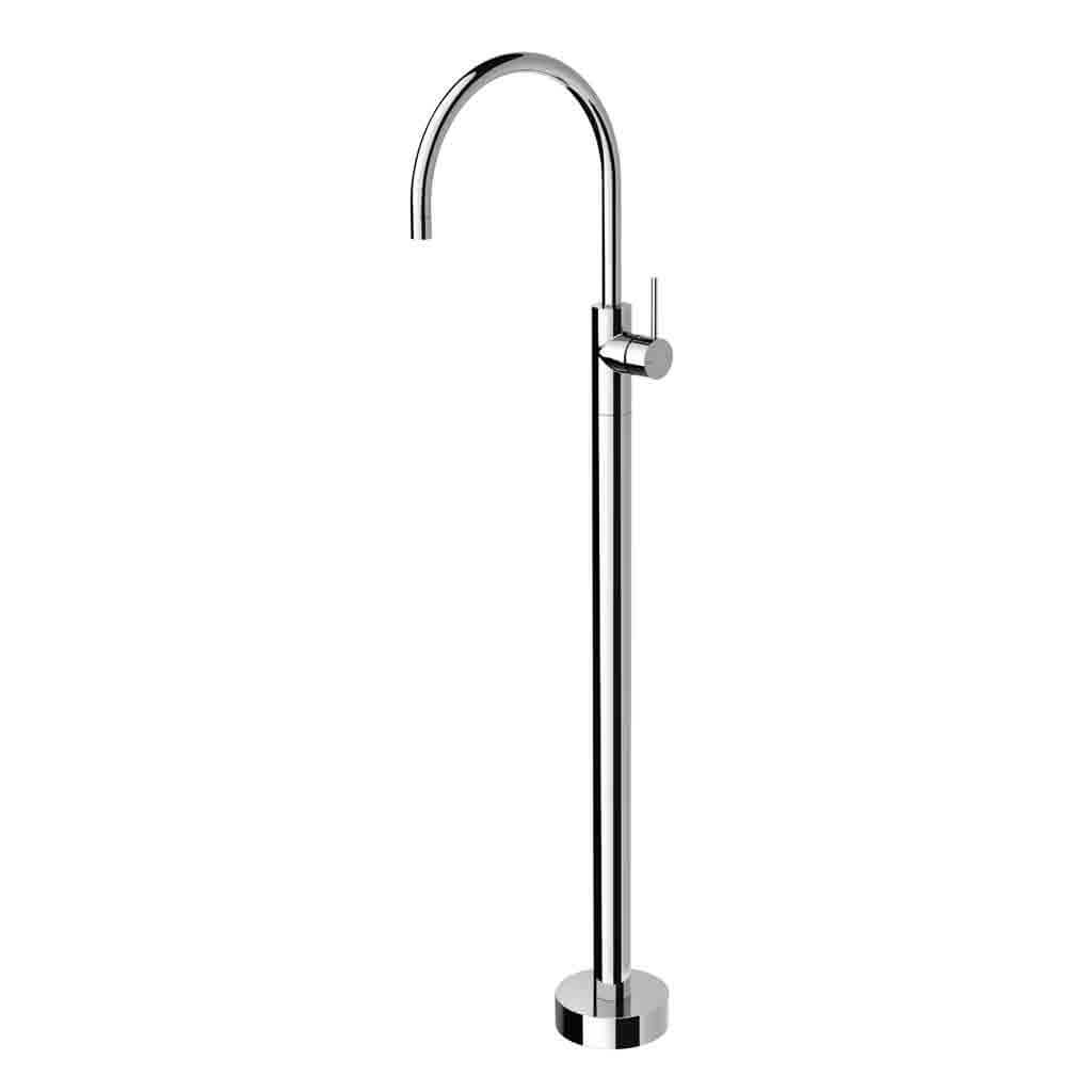 Vivid Slimline Floor Mounted Bath Mixer