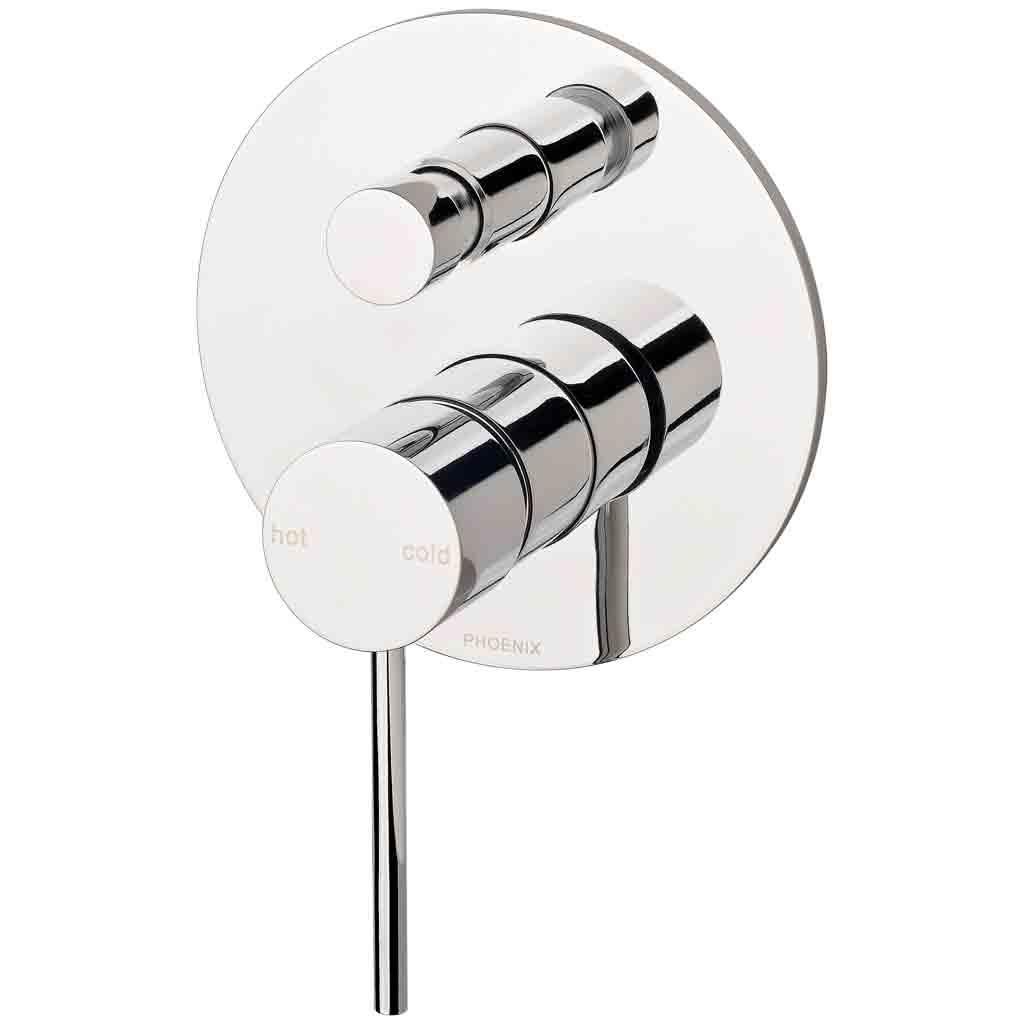 Vivid Slimline Shower / Bath Diverter Mixer