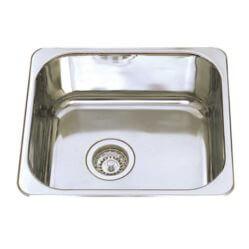 Kitchen Sink U/M Sgl Bowl 420x370x170