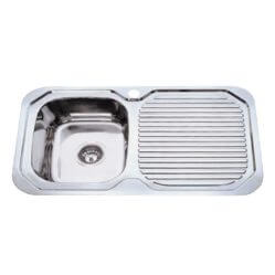 Kitchen Sink Single Bowl 780x480x170 LHB