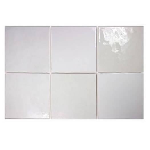 Artisan White Gloss 132x132 Otc Tiles Bathroom
